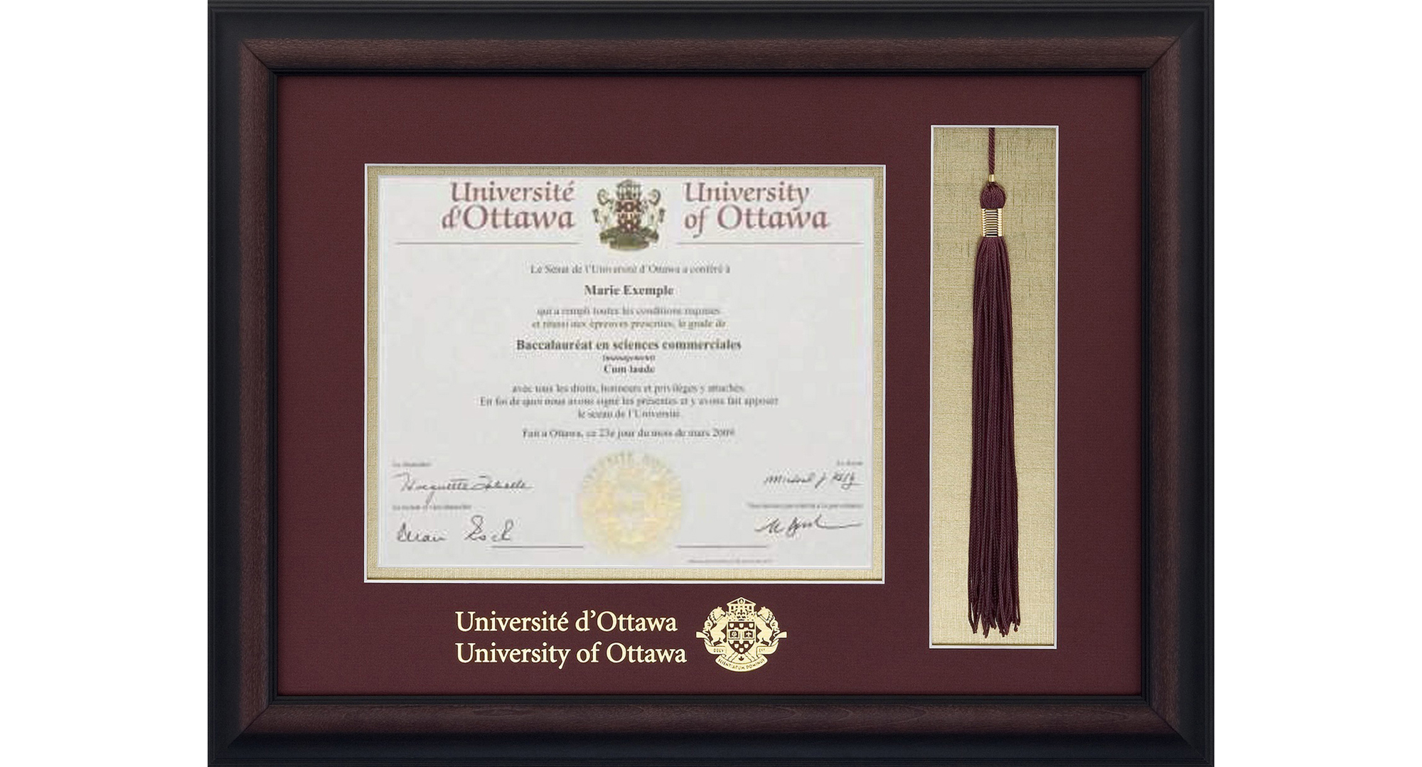 there has been a trend over the past few years to enhance the standard diploma frame the success of the diplomat diploma frame with a 22k medallion is - Diploma Tassel Frame