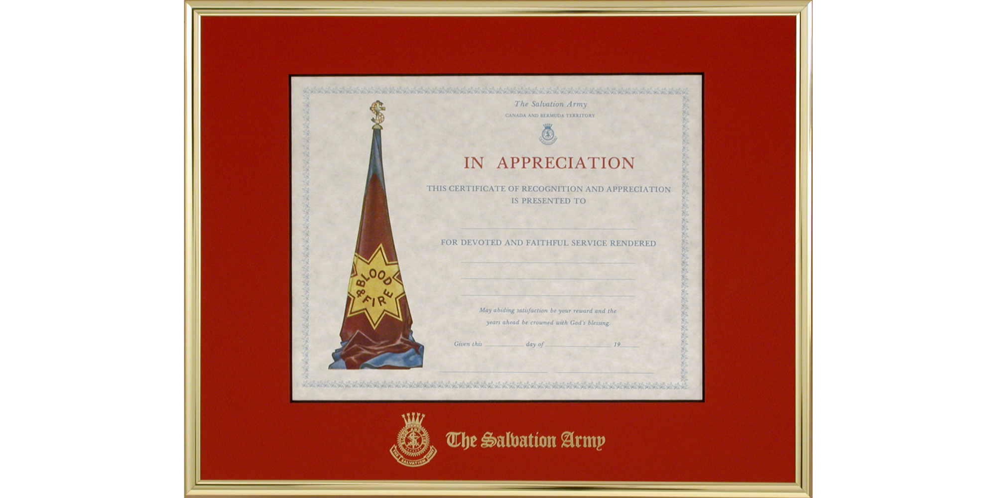 certificate of salvation template - full products tempo framing systems